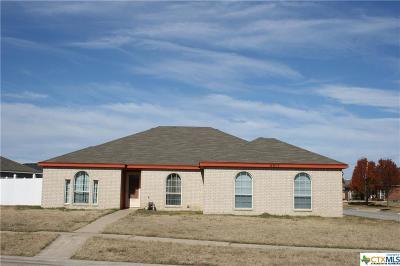 Killeen Single Family Home For Sale: 4917 Kit Carson