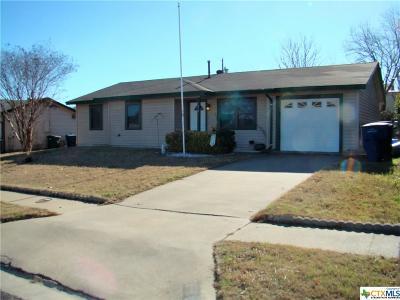 Copperas Cove Single Family Home For Sale: 816 Michelle