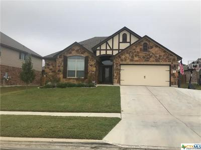 Killeen Single Family Home For Sale: 5222 Siltstone