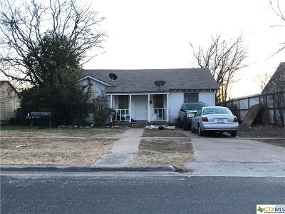 Killeen Single Family Home For Sale: 1102 Green