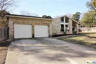 Harker Heights Single Family Home Pending Take Backups: 1202 Holly