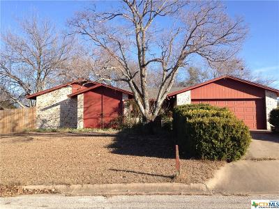 Harker Heights TX Single Family Home For Sale: $59,750