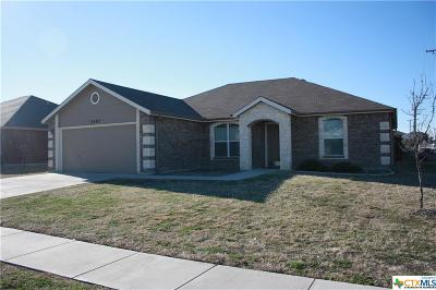 Copperas Cove Single Family Home For Sale: 2307 Mike Drive