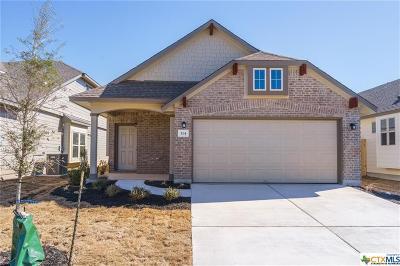 San Marcos Single Family Home For Sale: 314 Hay Barn