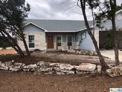 Canyon Lake Single Family Home For Sale: 596 Riviera Drive