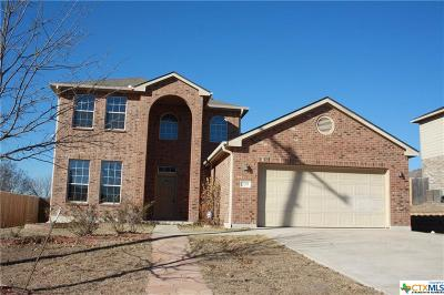 Harker Heights Single Family Home For Sale: 209 Crowfoot Drive