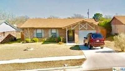 Copperas Cove Single Family Home For Sale: 228 Blanket