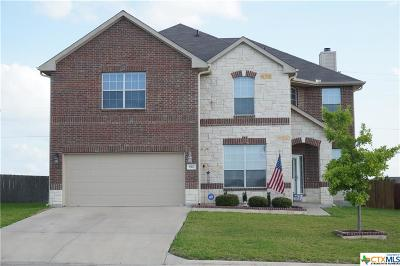Harker Heights Single Family Home For Sale: 810 Red Fern Drive