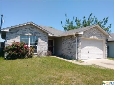 Killeen Single Family Home For Sale: 3305 Cherry Road