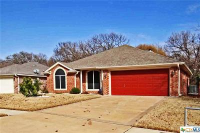 Copperas Cove Single Family Home For Sale: 2202 Indian Camp Trail