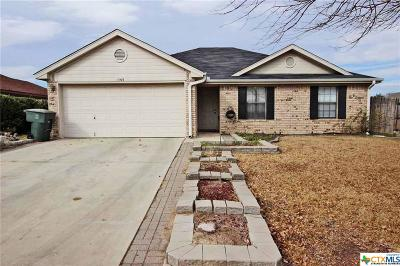 Killeen Single Family Home For Sale: 4903 Norton Drive