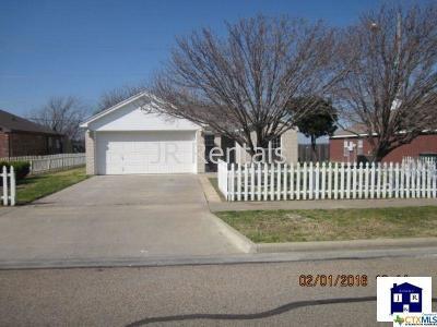 Harker Heights, Killeen, Temple Rental For Rent: 4107 Hitchrock
