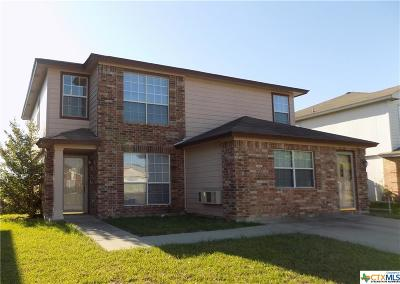 Killeen TX Single Family Home For Sale: $142,000