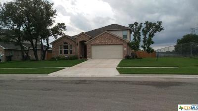 Killeen Single Family Home For Sale: 7501 Pyrite