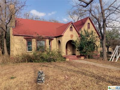 Temple Single Family Home For Sale: 1304 Adams