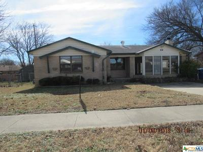 Copperas Cove Single Family Home For Sale: 114 North Drive