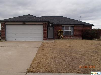 Killeen Single Family Home For Sale: 5001 Parkwood Drive