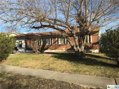 Copperas Cove Single Family Home For Sale: 606 15th Street