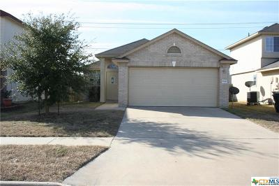 Killeen Single Family Home For Sale: 5110 Donegal Bay
