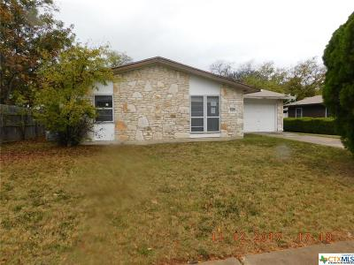 Killeen Single Family Home For Sale: 1711 Janis Drive
