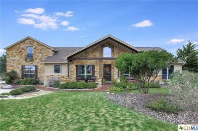 Comal County Single Family Home For Sale: 324 Charon Point