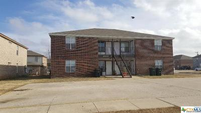 Killeen Multi Family Home For Sale: 2800 Cantabrian Drive