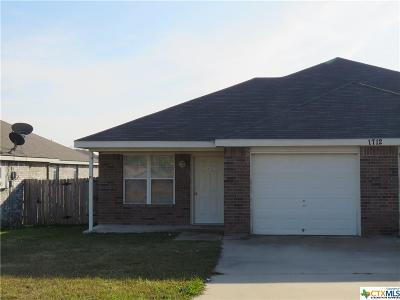 Harker Heights, Killeen, Temple Rental For Rent: 1712 Ute Trail #A