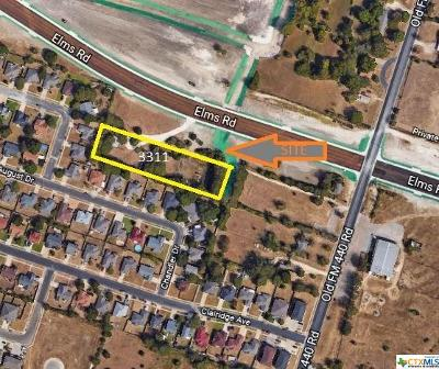 Killeen TX Residential Lots & Land For Sale: $225,000