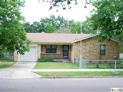Copperas Cove Single Family Home For Sale: 2101 Crescent Drive