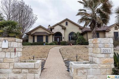 Harker Heights Single Family Home For Sale: 2013 Kangaroo Trail