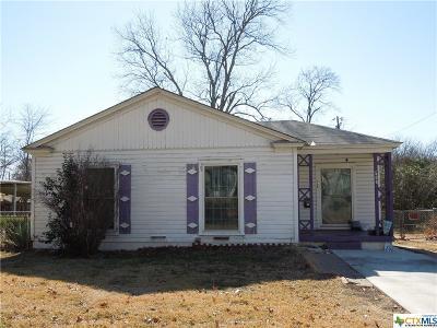 Killeen TX Single Family Home For Sale: $47,500