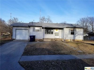 Copperas Cove Single Family Home For Sale: 704 Lincoln
