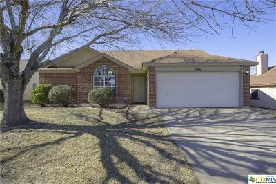 Killeen Single Family Home For Sale: 2301 Pixton