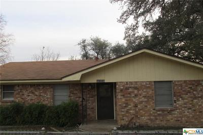 Belton TX Single Family Home For Sale: $136,000