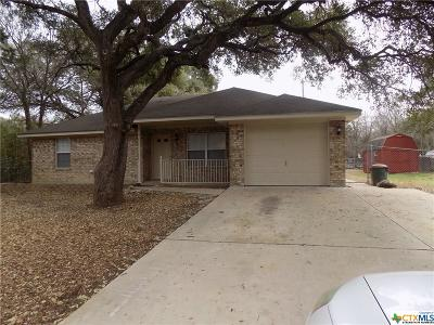 Belton Single Family Home For Sale: 12 Jack Rabbit Circle