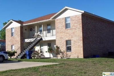 Copperas Cove Multi Family Home For Sale: 203 Anderson