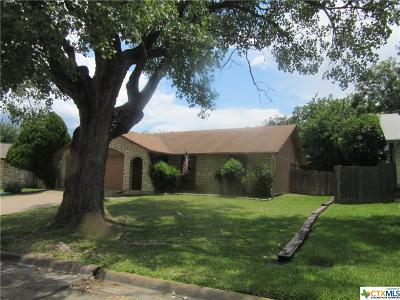 Harker Heights TX Single Family Home For Sale: $109,900