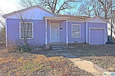 Killeen Single Family Home For Sale: 1106 Attas Avenue