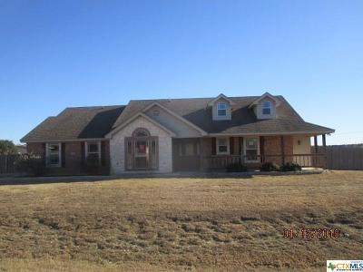Copperas Cove Single Family Home For Sale: 3305 Logsdon Drive
