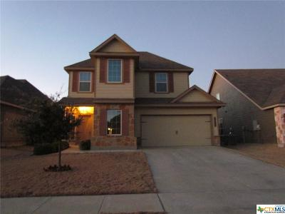 Harker Heights, Killeen, Temple Single Family Home For Sale: 3409 Castleton