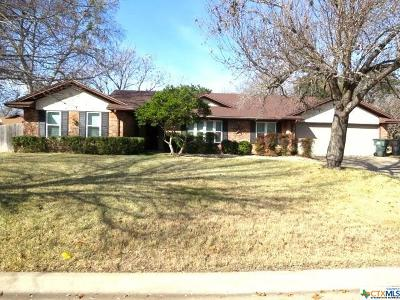 Temple Single Family Home For Sale: 4702 Spanish Oak Road