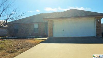 Killeen Single Family Home For Sale: 2002 Basalt Drive