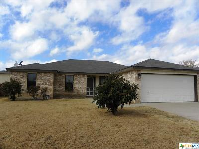 Copperas Cove Single Family Home For Sale: 1308 Travis Circle