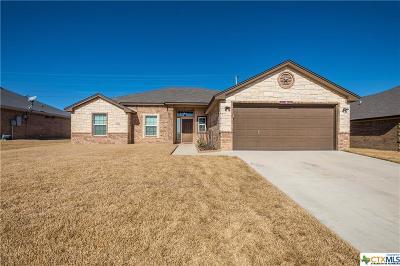 Killeen TX Single Family Home For Sale: $164,500
