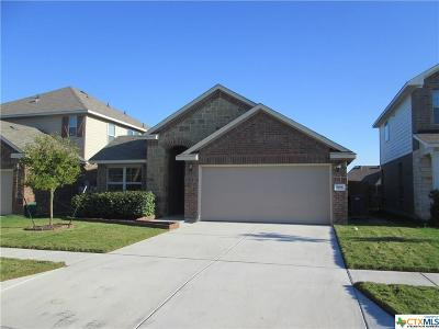 Killeen Single Family Home For Sale: 3406 Rusack