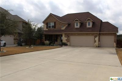 Harker Heights Single Family Home For Sale: 3355 Vineyard Trail