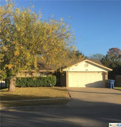 Copperas Cove Single Family Home For Sale: 206 Wagontrain
