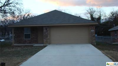 Lampasas Single Family Home For Sale: 903 Avenue C