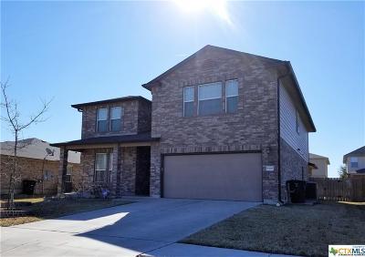 Killeen TX Single Family Home For Sale: $189,900