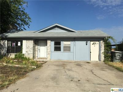Killeen Single Family Home For Sale: 3103 Chisholm Trail